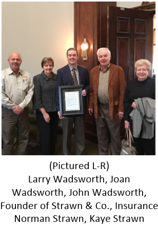 Larry Wadsworth, Joan Wadsworth, John Wadsworth, Norman Strawn and Kaye Strawn